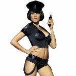 Obsessive, Kostium policjantki z szortami Obsessive Police Set Costume S/M