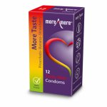 More Amore, Prezerwatywy 3 smaki - MoreAmore Condom Tasty Skin 12 szt