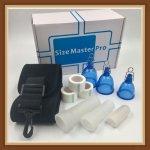 Size Master Pro penis enlarger extender tension hanger stretcher auto vacuum pump for penis stretcher enlargment pump cylinder