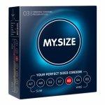 My Size, Dopasowane prezerwatywy - My Size Natural Latex Condom 60mm 3szt
