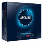 My Size, Dopasowane prezerwatywy - My Size Natural Latex Condom 64mm 10szt