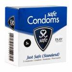 Safe, Prezerwatywy klasyczne - Safe Just Safe Condoms 5szt