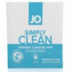 Chusteczki do higieny intymnej - System JO Wipes Clean Fragrance Free Bezzapachowe 1szt