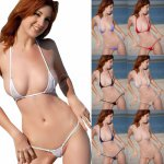 Women Sexy Micro Mini Bikini Thong Underwear G-String Bra Swimwear Sleepwear New High Quality