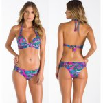 Flower Print Bikini Summer Bathing Suit Brazilian Biquini Sexy Bikinis Set 2018 Vintage Retro Swimsuit Bandage Swimwear Women