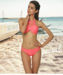 Bikini, sexy swimsuit, hollowed out solid color, welcome to wholesale