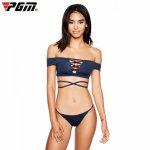 Sexy  Shoulder Women Swimwear Bikinis Set Brazilian Beachwear Bathing Suit Push Up Swimsuit Maillot De Bain Femme