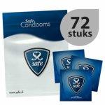 Safe, Prezerwatywy klasyczne - Safe Just Safe Condoms 72szt