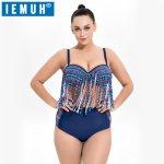 IEMUH Brand Summer Sexy Women Bikini Set Swimwear Push-up Padded Bra Swimsuit Bandage Bathing Suit Beachwear Plicated Triangle