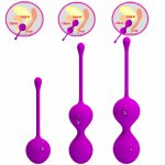 3 Pcs Kegel Balls Vaginal Tight Ball Exercise Balls Orgasms Massage Sex Toys For woman Vibrator for Women Sex Products Adult toy