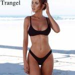 Trangel 2018 women swimsuit push up bikini brazilian bikini sexy thong biquinis women bathing suit push up bikini set