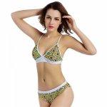 2018 Sexy Push Up Bikini Women Swimsuit Swimwear Retro Vintage Print Bikini Set Bathing Suits Beach Wear Swim