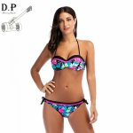 DP New Bikini Swimwear Women Swimsuit Sexy Push Up Bikini Set 2017 Bandage Swimwear Female Bathing Suits Beachwear Bikinis S-XL