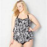 2018 Plus Size Bikini Set Women Layered Ruffle Push Up Big Size Swimsuit Sexy Print Swimwear Large Size Bikini Set Bathing Suit