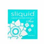 Sliquid, Środek nawilżający z wyciągiem z wodorostów - Sliquid Naturals Sea Lubricant 5 ml SASZETKA