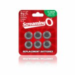 Screaming O, Baterie AG-10 - The Screaming O Size AG-10 Batteries x6 do sex zabawek