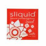 Sliquid, Smakowy środek nawilżający - Sliquid Naturals Swirl Lubricant 5 ml Czereśnia i Wanilia SASZETKA