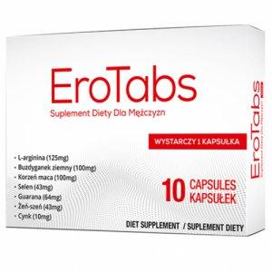 Na problemy z erekcją EroTabs 10 kapsułek