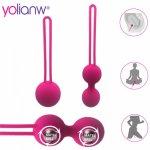 Female Smart Ball, Kegel Ben Wa Ball,Vaginal Tight Exercise Vibrator, Vibrators Vaginal Ball Sex Toys for Women Sex Product