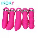 Ikoky, IKOKY Dildo Vibrator Realistic Clit Stimulator AV Stick Adult Product Multispeed Magic Wand G-Spot Massager Sex Toys for Women