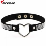 Morease, Morease Rhinestone Collar Punk Style Leather Necklace Sex Toys Bondage Erotic Bdsm brinquedo Sexo Fetish Toy Adult Games