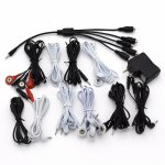 10 Style Choose Electric Shock Wire Electrical Stimulation Cable Patch Cord Electro Shock DIY Accessories Sex Toys For Couples