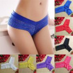 2018 New Women Bikinis Women Lace V-string Briefs Panties Thongs G-string Lingerie Underwear Sexy Swimsuit Set