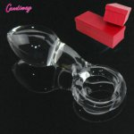 glass anal plug finger ring big ball dildo crystal butt plug sex toys female male masturbation products huge cock anus stopper