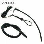 Medical Conductive Silicone Penis Plug Chastity Catheter Electro Stimulate Penis Ring Urethral Dilator Sounding Sex Toys For Men