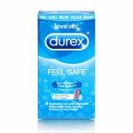 Durex, Prezerwatywy nawilżane - Durex Emoji Feel Safe Condoms 6 szt