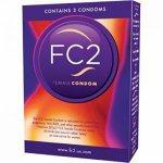 Prezerwatywy dla kobiet - Femidom FC2 Female Condom 3 szt